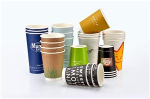 Disposable cups custom printed LOGO coffee tea advertising cup custom paper cups thickened