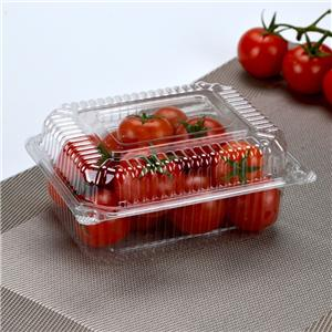 disposable plastic tray supermarket fruit and vegetable packaging transparent lunch box fresh tray