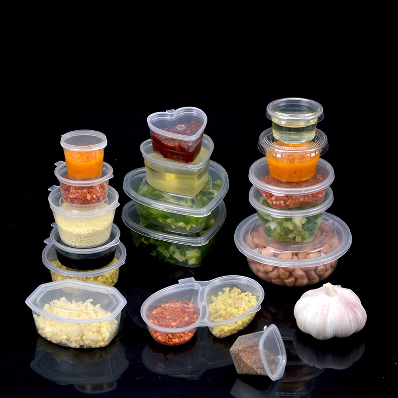 Disposable sauce cup plastic pudding cup Try drink cup