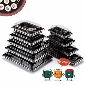 sushi box food sushi packaging box sushi paper box sushi takeaway box