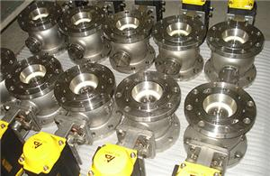 Ceramics Seated Segment Ball Valves