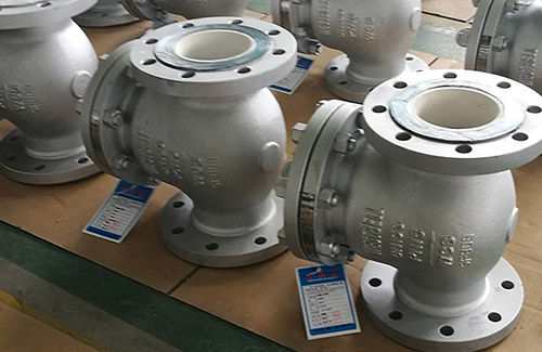 Swing Type Ceramic Check Valves