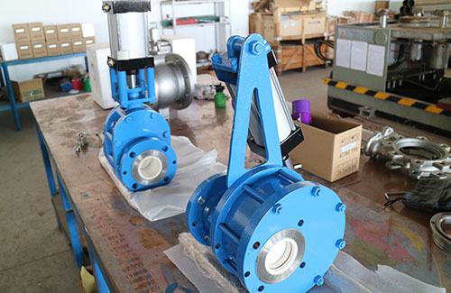 Ceramic Rotating Double Dsic Valves