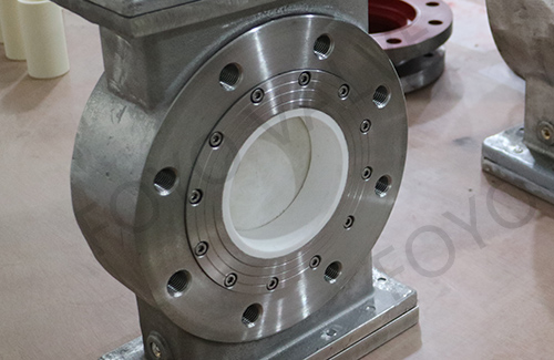 Ceramic Knife Gate Valve for Slurry and Fly ash