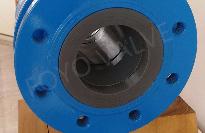 Si3N4 Silicon Nitride Lined Ball Valve