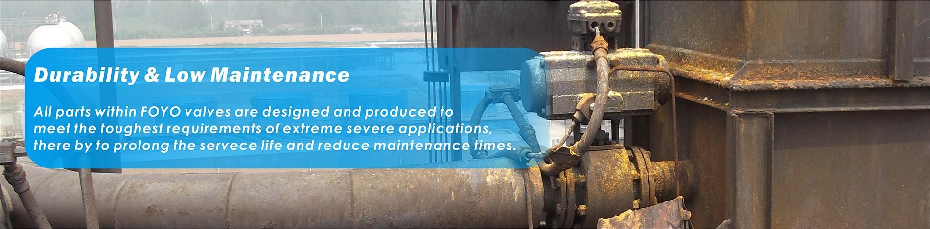 Durability and Low maintenance of Foyo Ceramic Valves