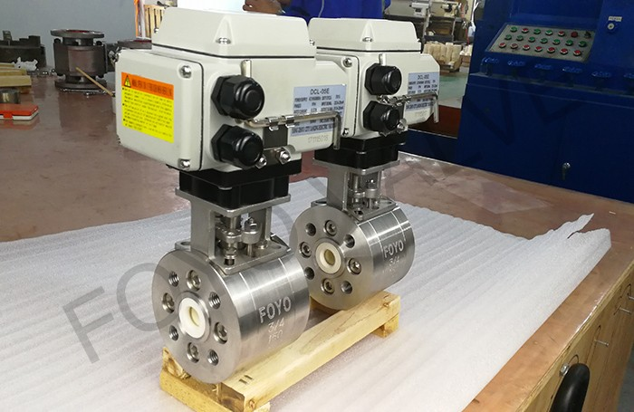 Electric Ceramic Ball Valve