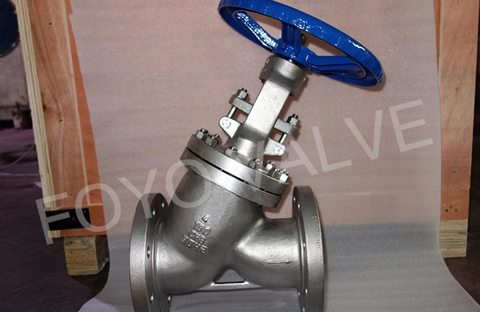 Y Pattern Ceramic Globe Valves