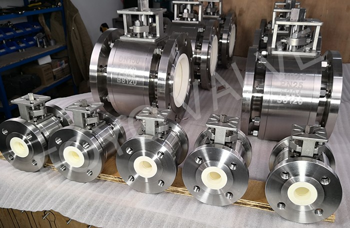 DIN Standard Ceramic Ball Valves for PCI System