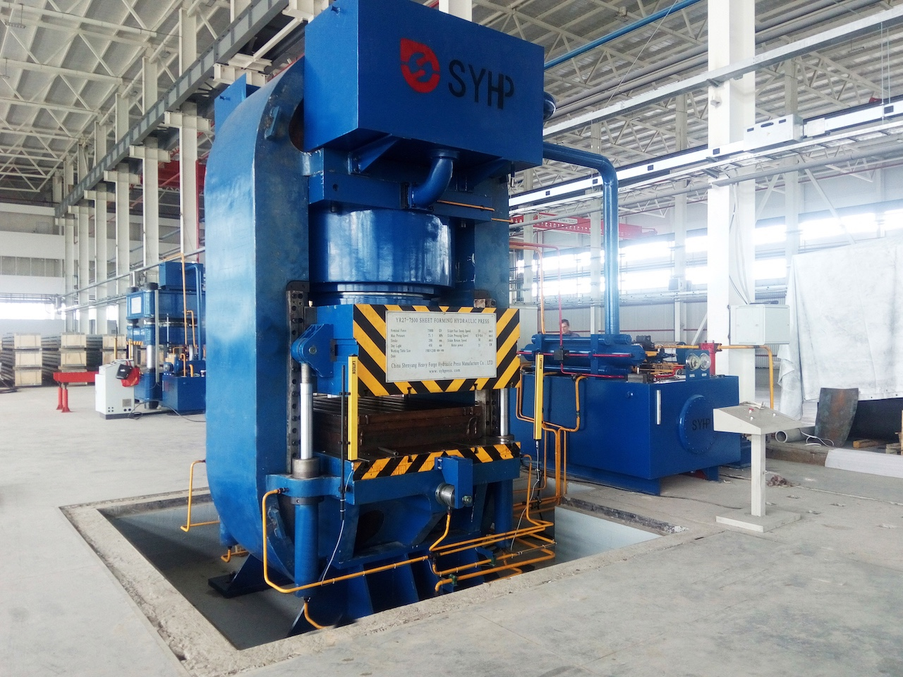 China High Quality 5000 Ton Hydraulic Press Quotes