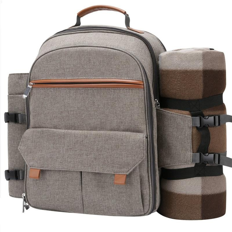 Picnic Backpack para 4 com Blanket