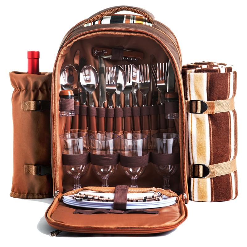 Cooler Compartment Picnic Bag 4