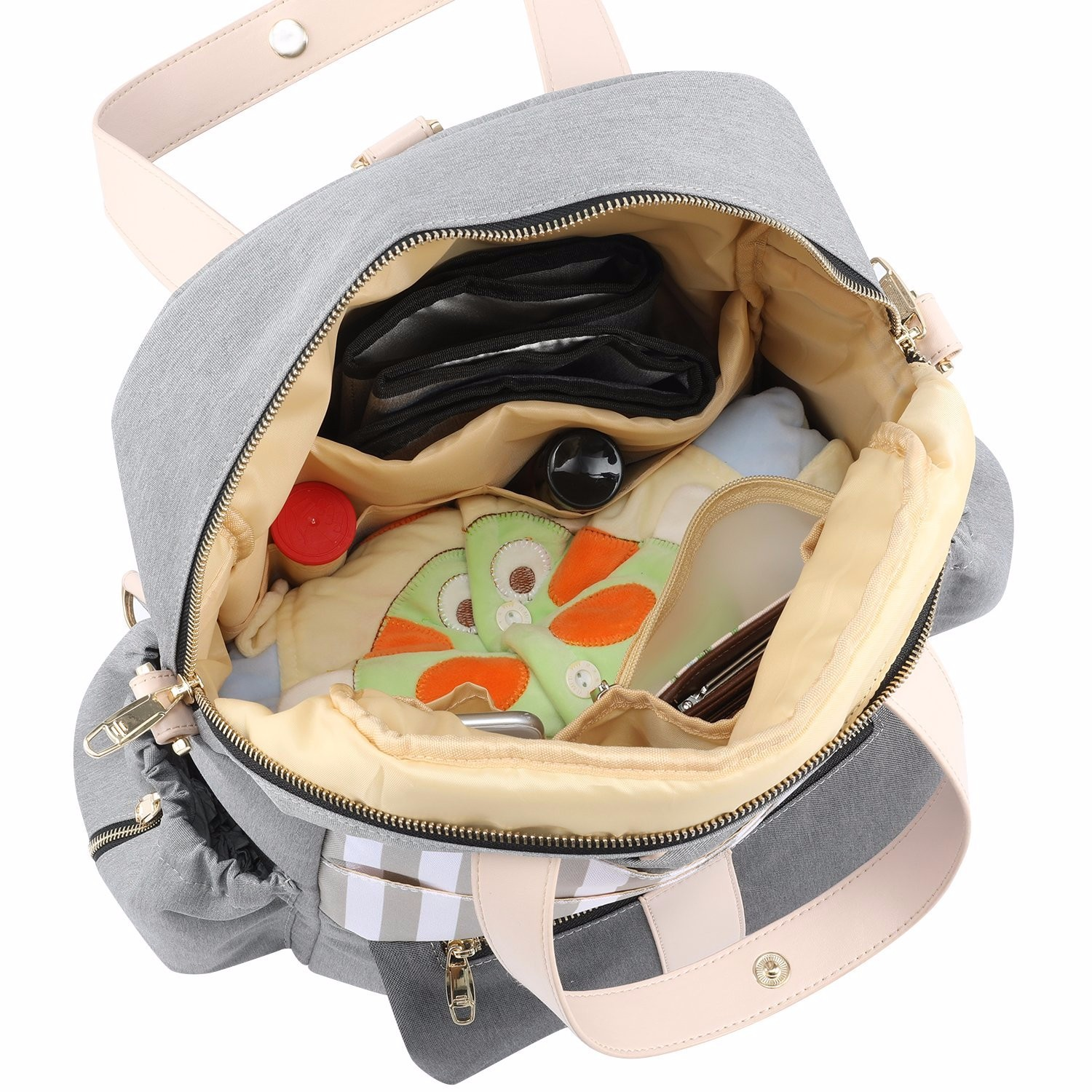 Quilted Diaper Backpack Manufacturers, Quilted Diaper Backpack Factory, Supply Quilted Diaper Backpack