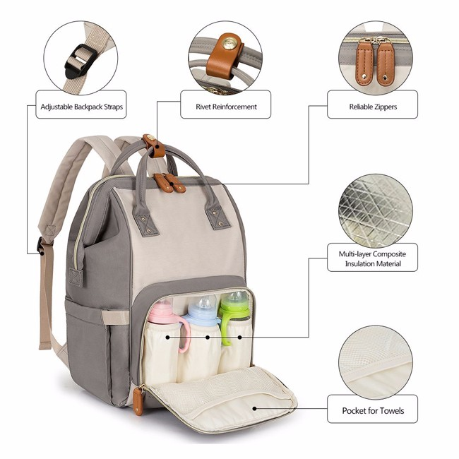 Custom Nappy Backpack Manufacturers, Custom Nappy Backpack Factory, Supply Custom Nappy Backpack