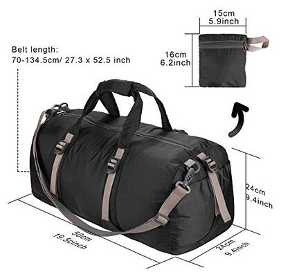 fold duffle bag