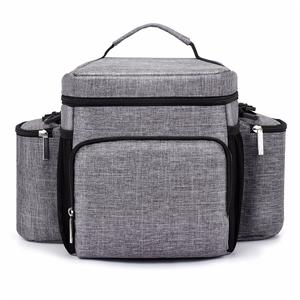 Snow Fabric Cooler Bag