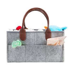 Felt Diaper Caddy