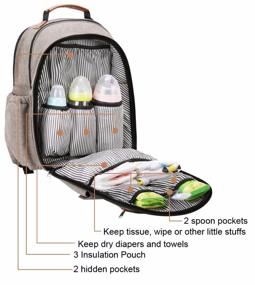 Modern Diaper Bag Backpack Manufacturers, Modern Diaper Bag Backpack Factory, Supply Modern Diaper Bag Backpack