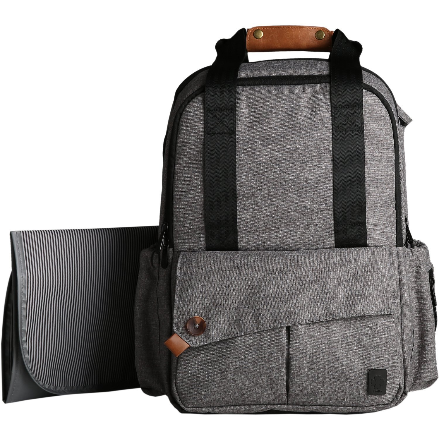 Diaper Bag Backpack Leather