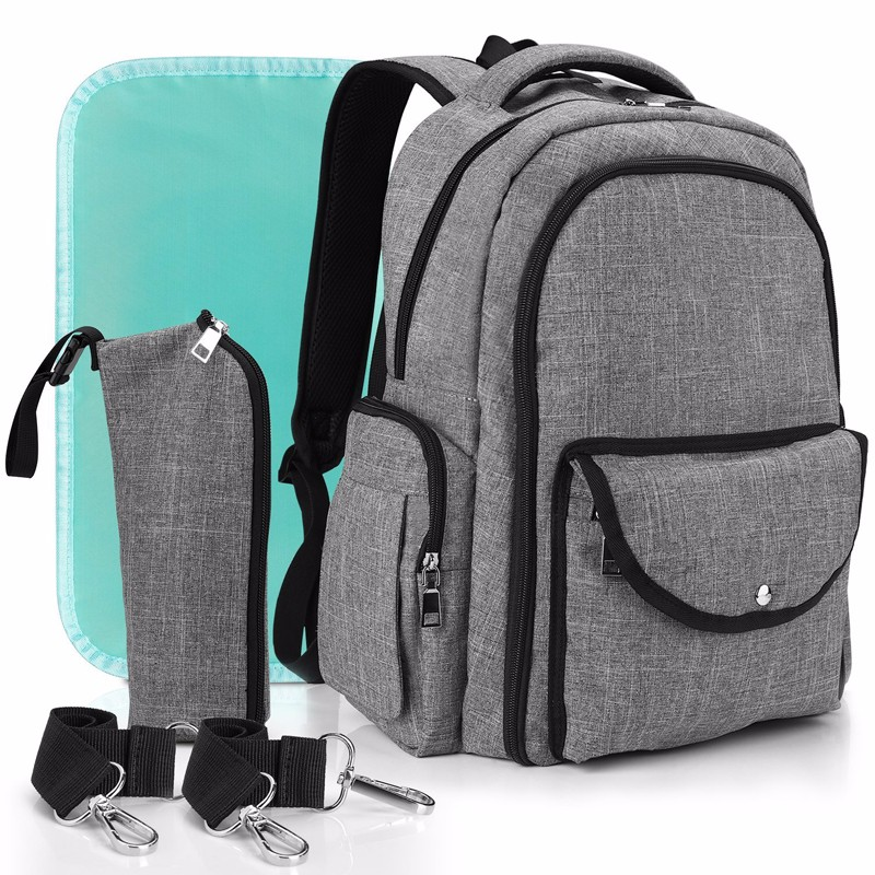 Lightweight Diaper Backpack Leather