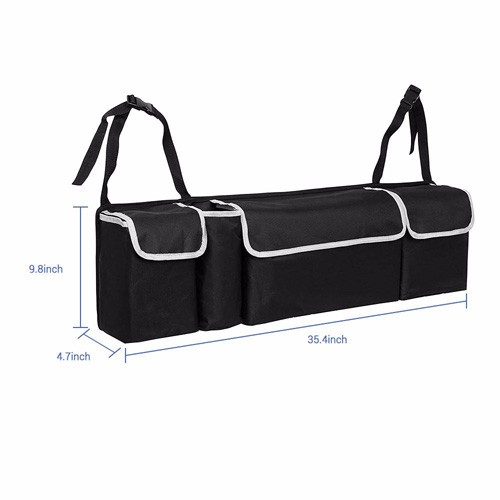 Foldable Trunk Organizer With Black