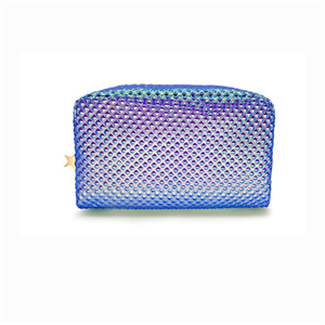 Shiny Holographic Cosmetic Bag