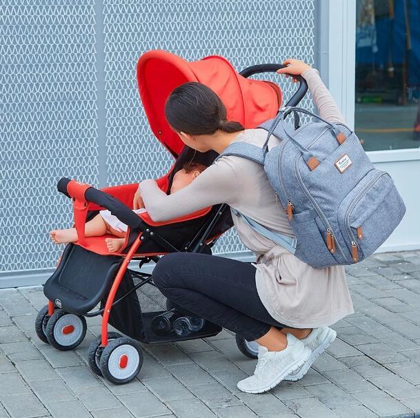 حفاضات الطفل حقيبة الظهر تغيير الوسادة