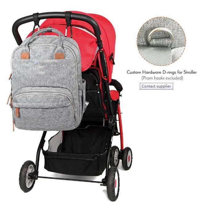 Super Capacity Baby Diaper Backpack