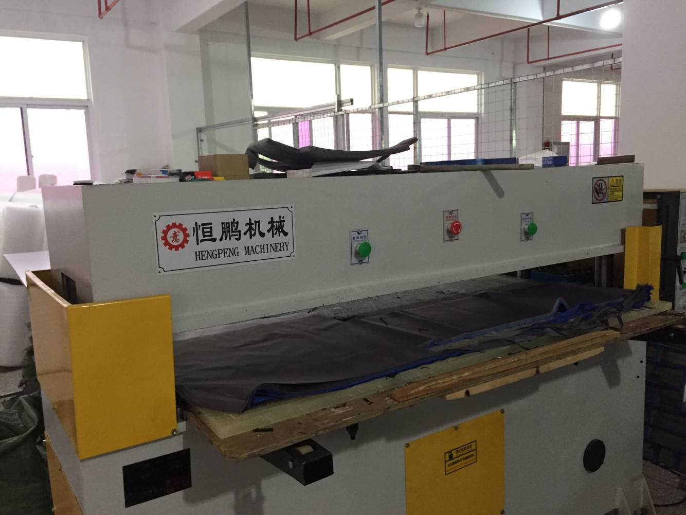 Bag production machine