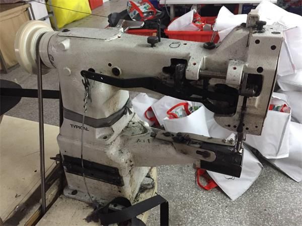 Diaper bag production machine