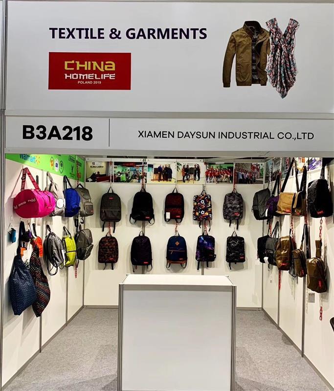 Daysun bag exhibition booth