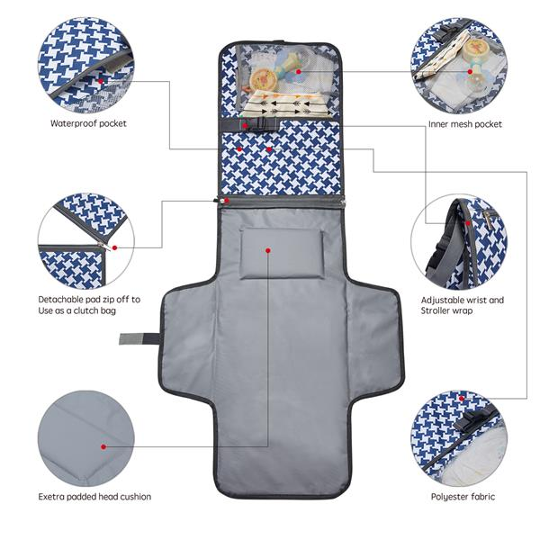 Foam Diaper Changing Pad
