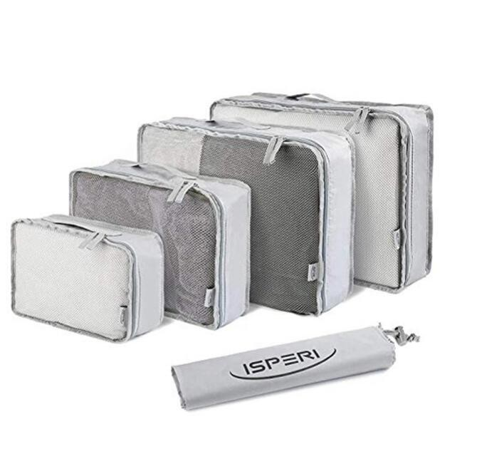 Ready to ship 5 in 1 fashion storage packing cubes