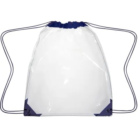 Clear Drawstring Backpack Manufacturers, Clear Drawstring Backpack Factory, Supply Clear Drawstring Backpack