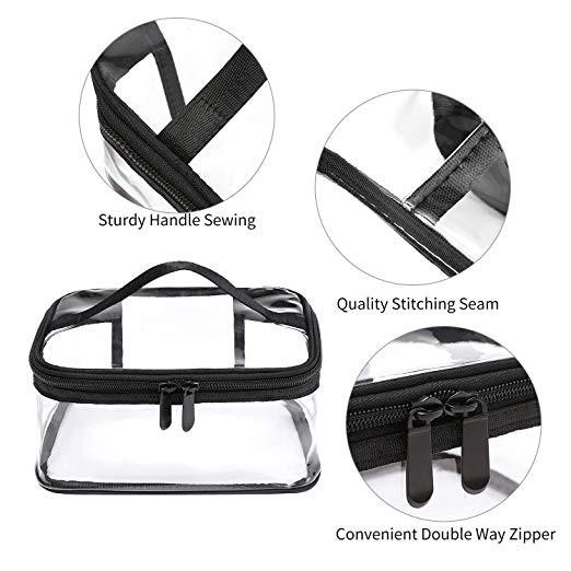 Transparent cosmetic bag Manufacturers, Transparent cosmetic bag Factory, Supply Transparent cosmetic bag