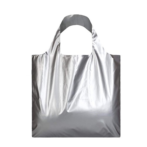 Sac shopping argent