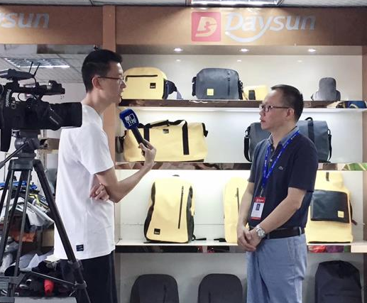 Daysun w stacji telewizyjnej Xiamen
