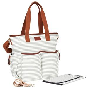 Striped Diaper Bag