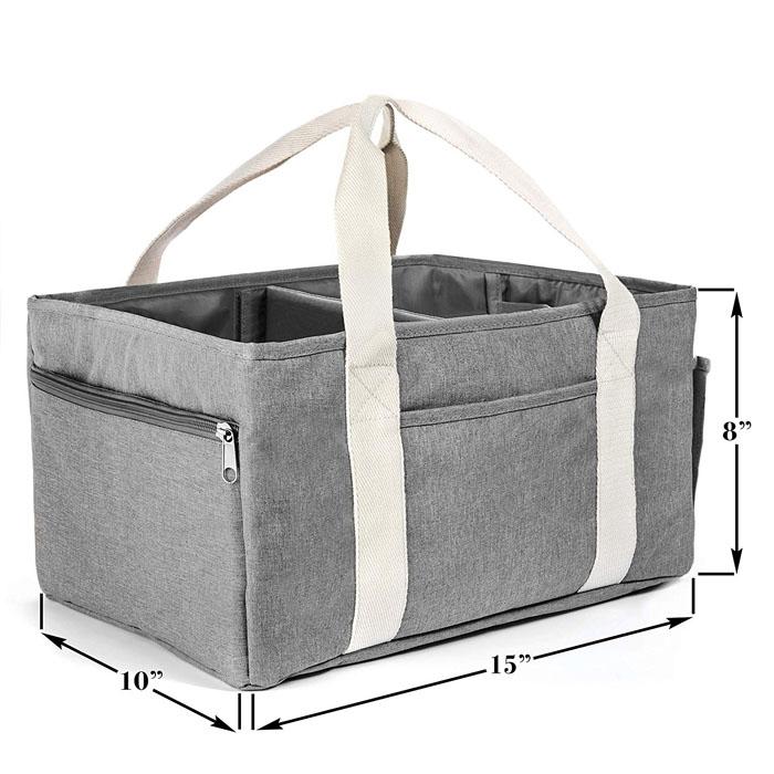 fold diaper caddy box