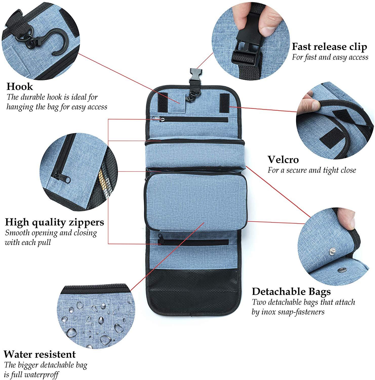 Toilettartikel Organizer Kit
