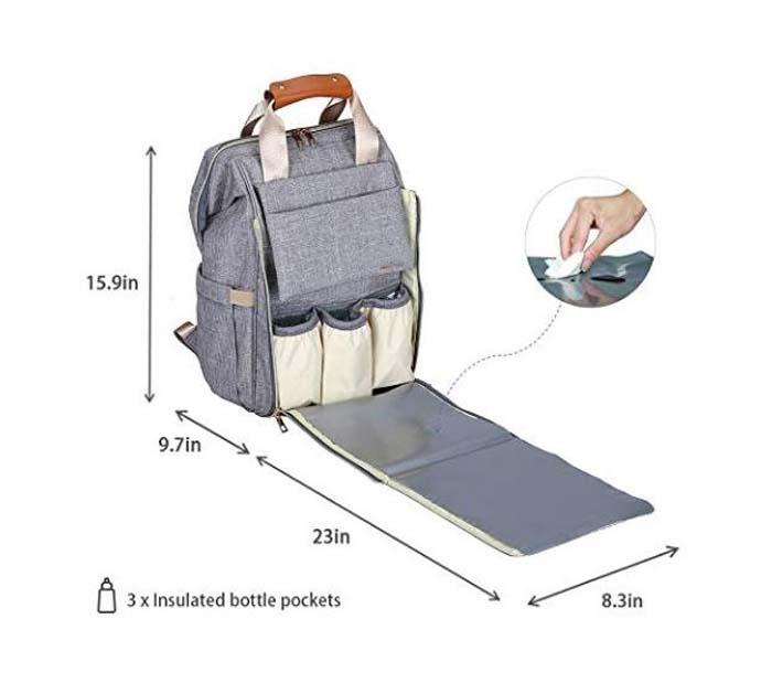 Polyester Diaper Bag