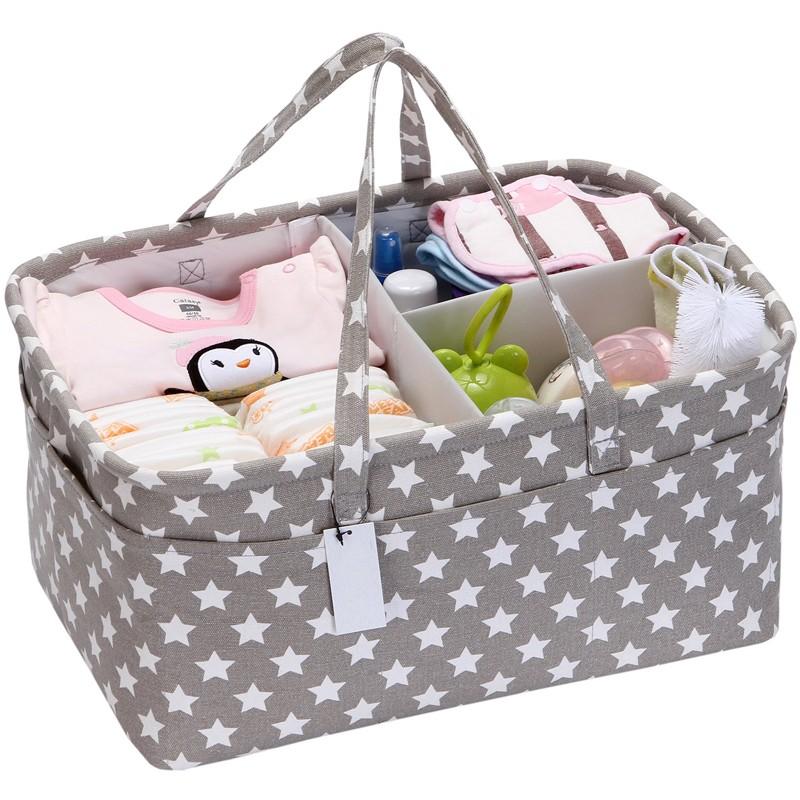 Nursery Diaper Caddy Organizer