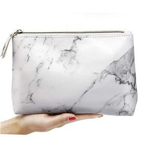 PU Cosmetic Bag Marble Pattern