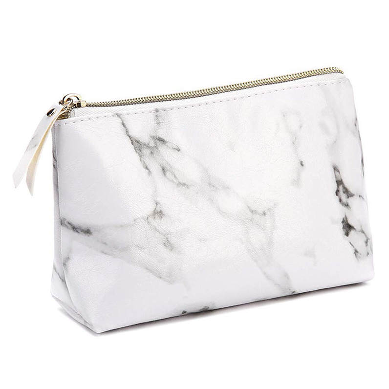 Cosmetic Bag Marble Pattern