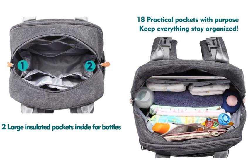 Trendy Diaper Backpack