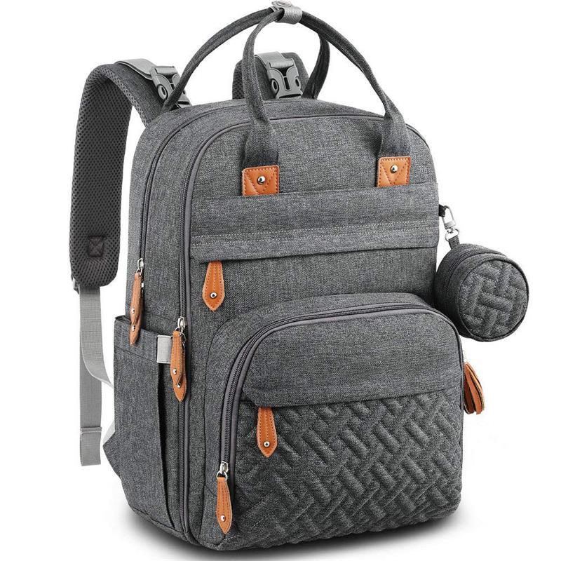 حقيبة ظهر عصرية لحفاضات الأطفال