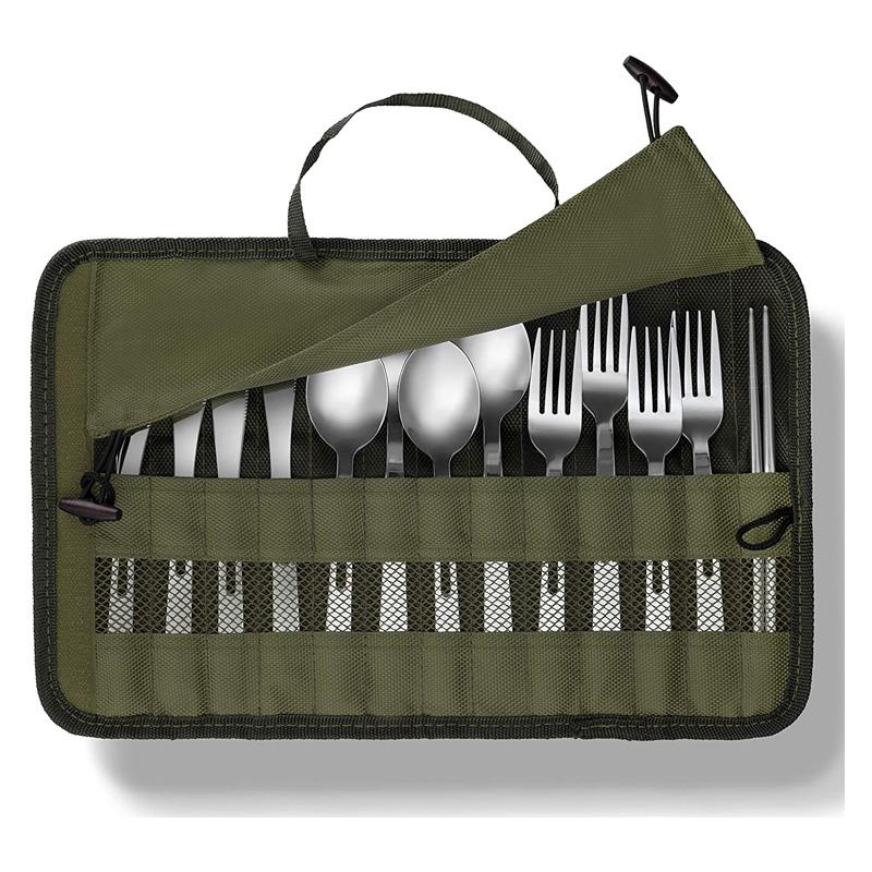 新しいカトラリー用品セットケースバッグ