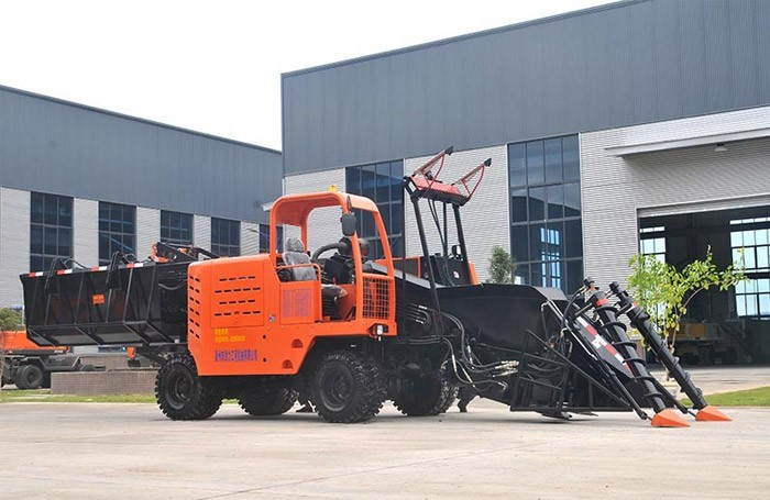 Wheel Type Whole Stalk Sugarcane Harvester