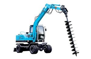 Mini Earth Auger Small Digger For Excavator