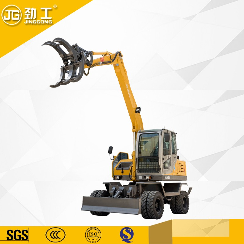 log grapple excavator manufacturer